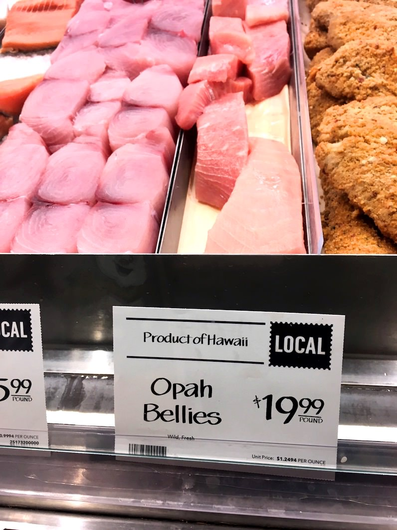 ホールフーズ鮮魚コーナー