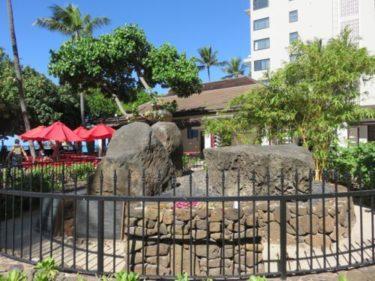 ハワイのパワースポット〜聖地巡礼〜②ワイキキ「カフナ・ストーン」