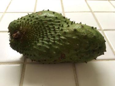 サワーソップ。ハワイで未知の果物に挑戦。失敗と成功の話〜ハワイの身近な食材②〜