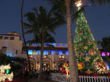 ハワイでクリスマスイルミネーションを楽しむ!「ホノルル・シティ・ライツ」