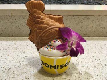 アラモアナでおすすめスイーツ!SOMISOMIの「たいやきアイス」