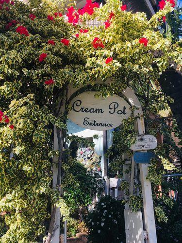 ハワイワイキキの人気パンケーキ店「クリームポット」とっても素敵なお店です!