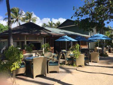 カハラホテルで海を見ながらお食事「シーサイドグリル」〜イルカにも会えます〜