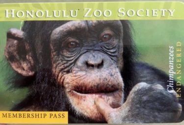 ホノルル動物園のメンバーシップに申し込み! 年パスで入りたい放題!