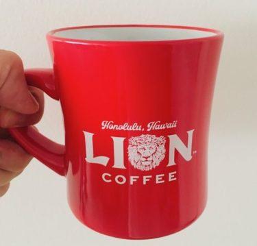 ライオンコーヒーでマグカップをゲット!〜ハワイで貰えるスーベニア①〜