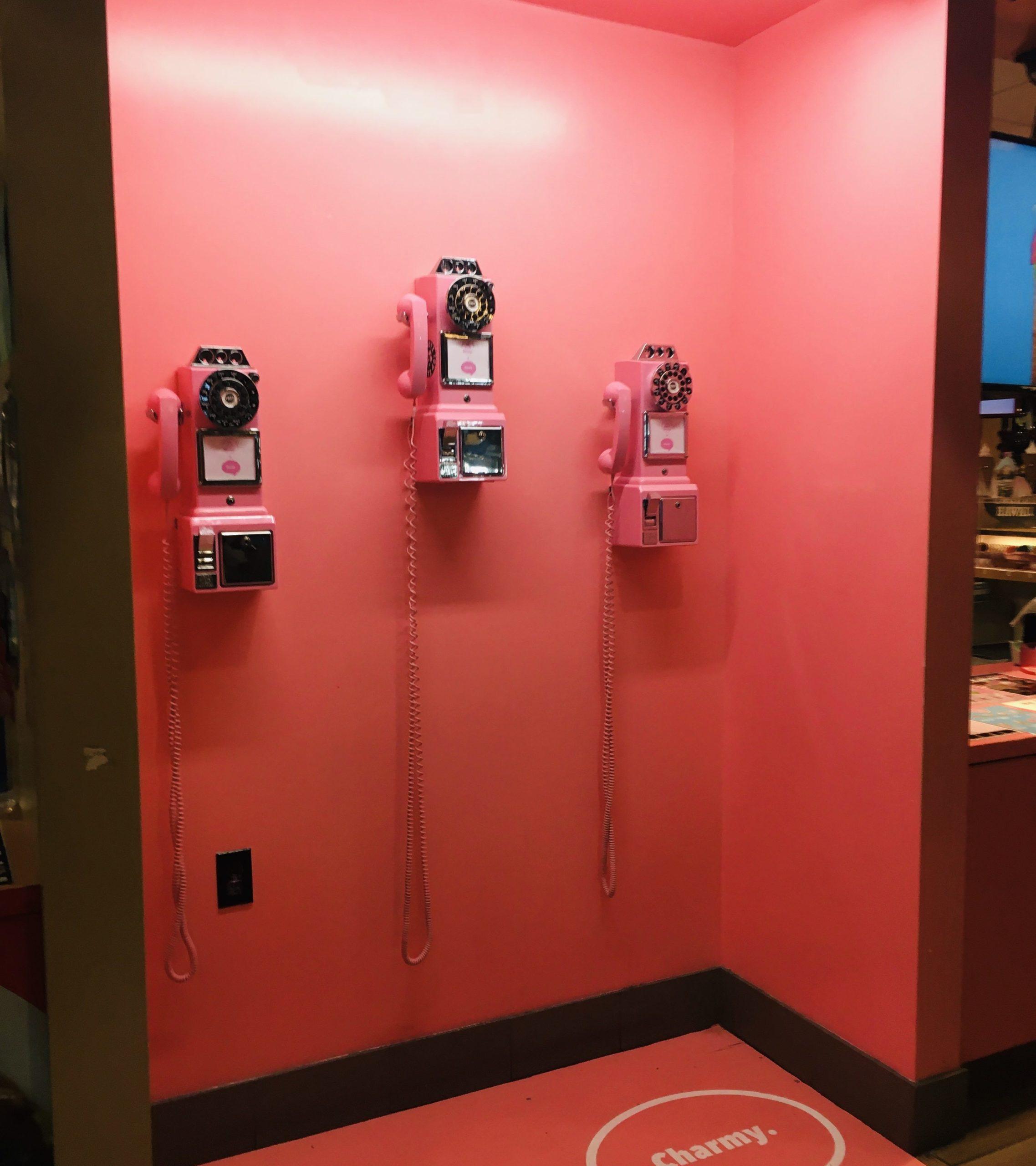 チャーミー電話ボックス