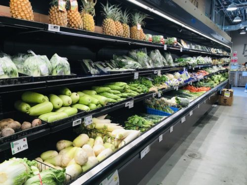 Hマート野菜売り場2