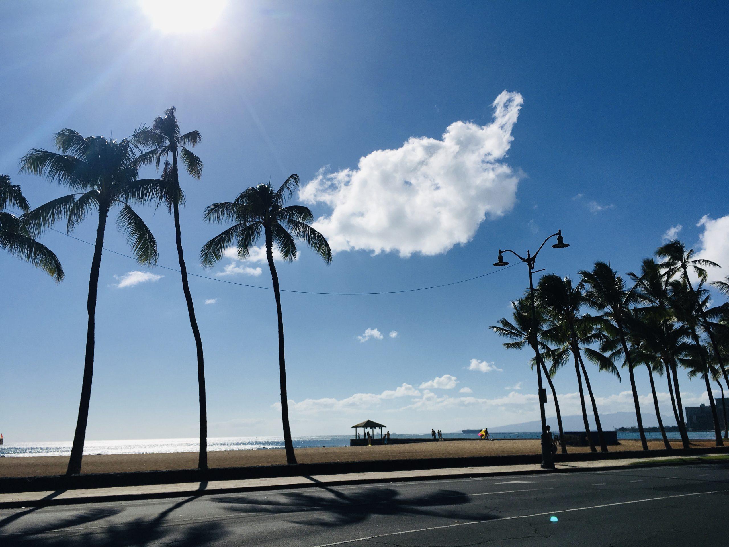 カピオラニビーチ