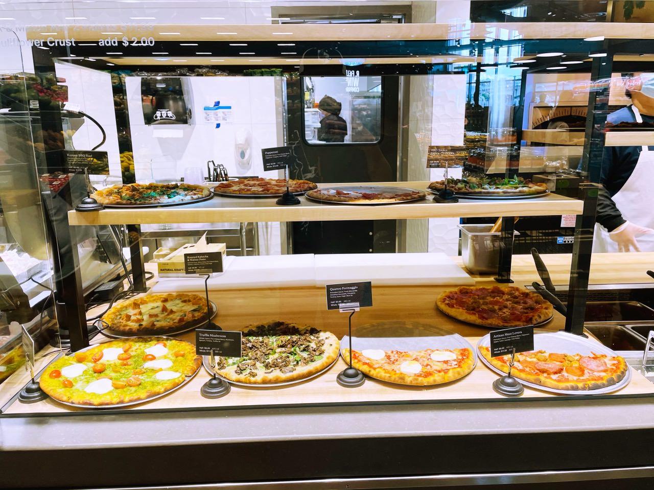 カハラマーケットピザ1