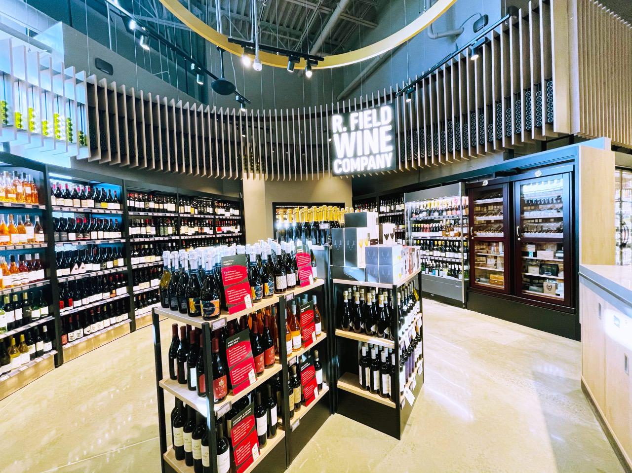 カハラマーケットワイン売り場