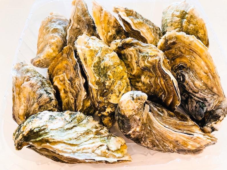 クアロアランチの生牡蠣