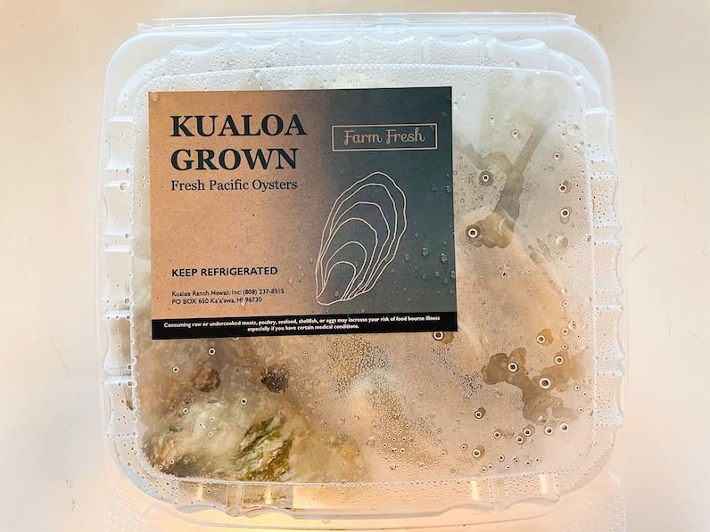 クアロアランチ生牡蠣箱