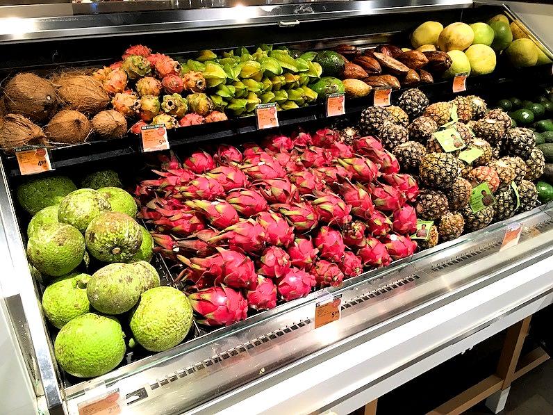 ハワイフードランドフルーツ売り場
