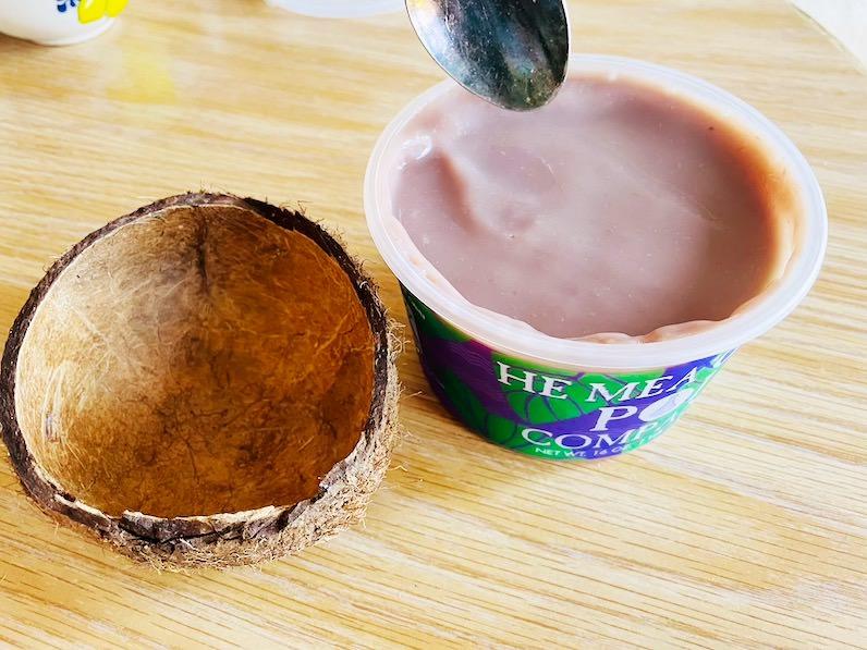 ポイをココナッツに移す