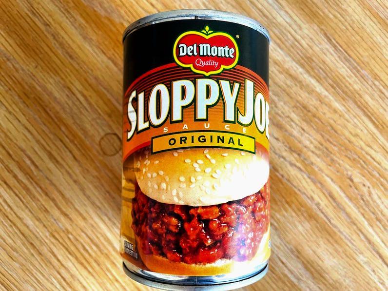 スロッピージョー缶詰