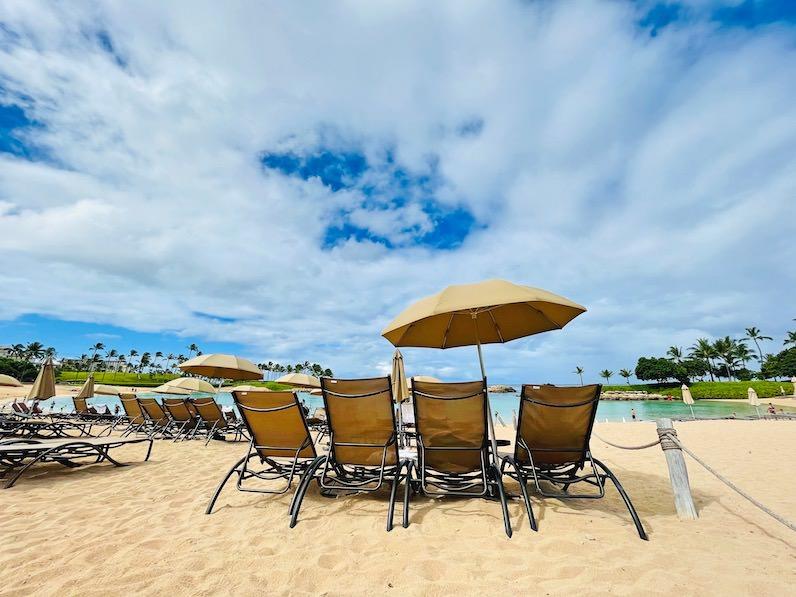 アウラニ・ディズニー・リゾートのビーチ