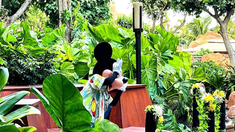 アウラニ・ディズニー・リゾートのミッキー