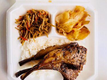 カカアコの人気店「HIBACHI(ヒバチ)」の絶品ラムチョップ・プレートランチ!ポケの名店だけど肉もウマい!