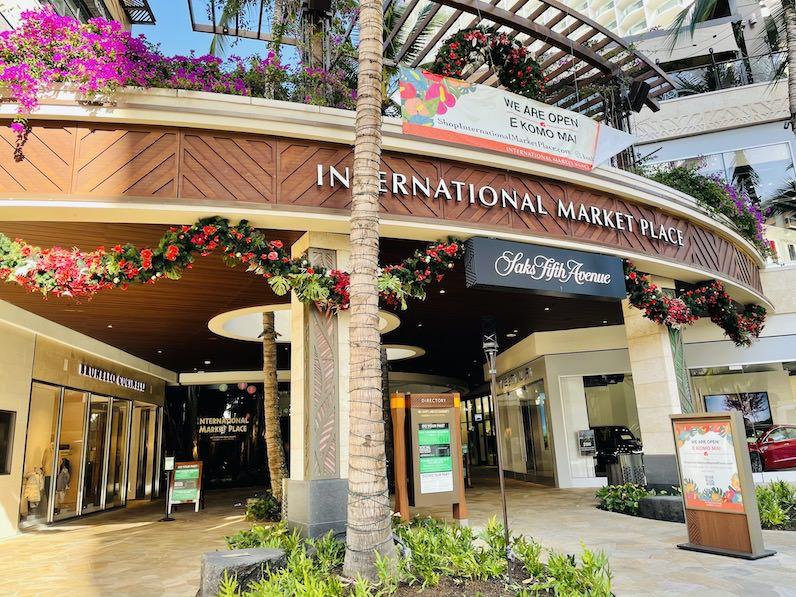 ハワイ「インターナショナルマーケットプレイス」