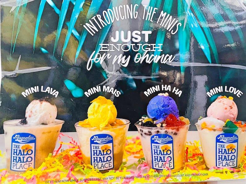 マグノリア・アイスクリーム&トリートのハロハロミニサイズ
