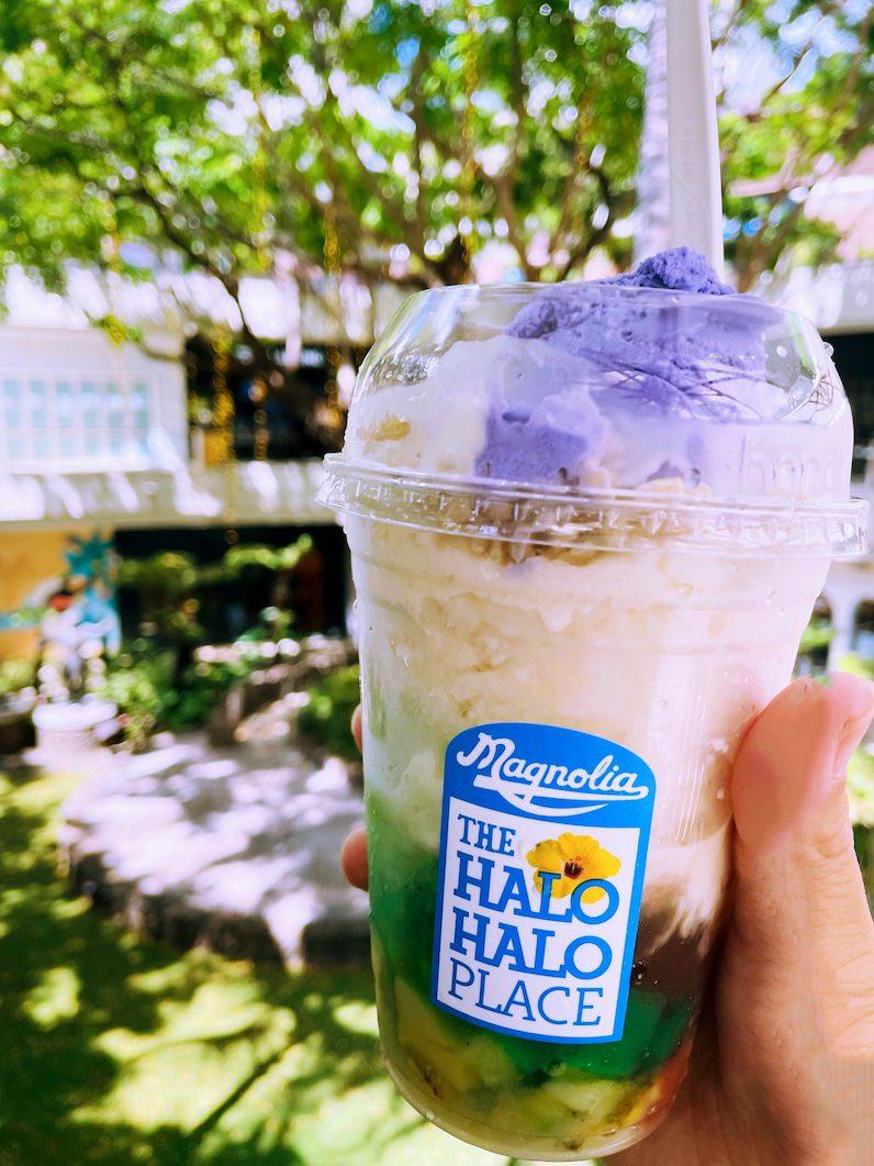 マグノリア・アイスクリームのハロハロ