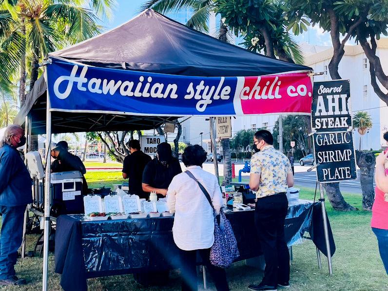 ハワイアンスタイル・チリ・カンパニー(ホノルルファーマーズマーケット)